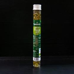 Grappe de poivre vert en huile